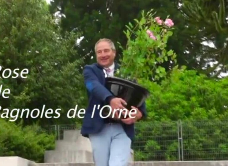 Inauguration de la rose de Bagnoles de l'Orne