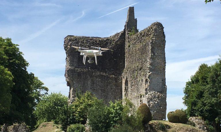Article ORNE HEBDO : Publicam filme avec un drone