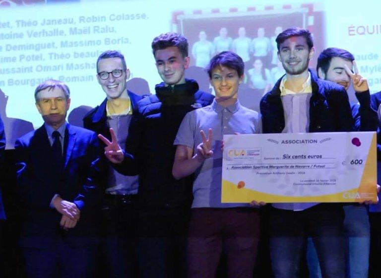 Cérémonie du Cercle Fabien Canu, promotion 2018 Anthony Geslin.