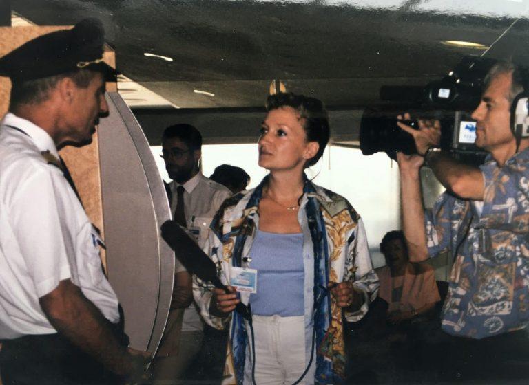 Vol sur Concorde en 1999