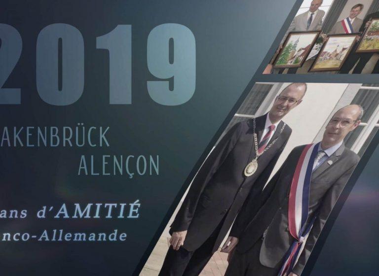 50 ans d'amitié entre Quakenbrück et Alençon