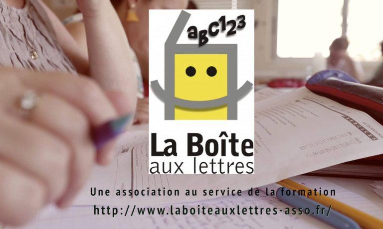 Nouvelle réalisation pour l'association » La boîte aux lettres»